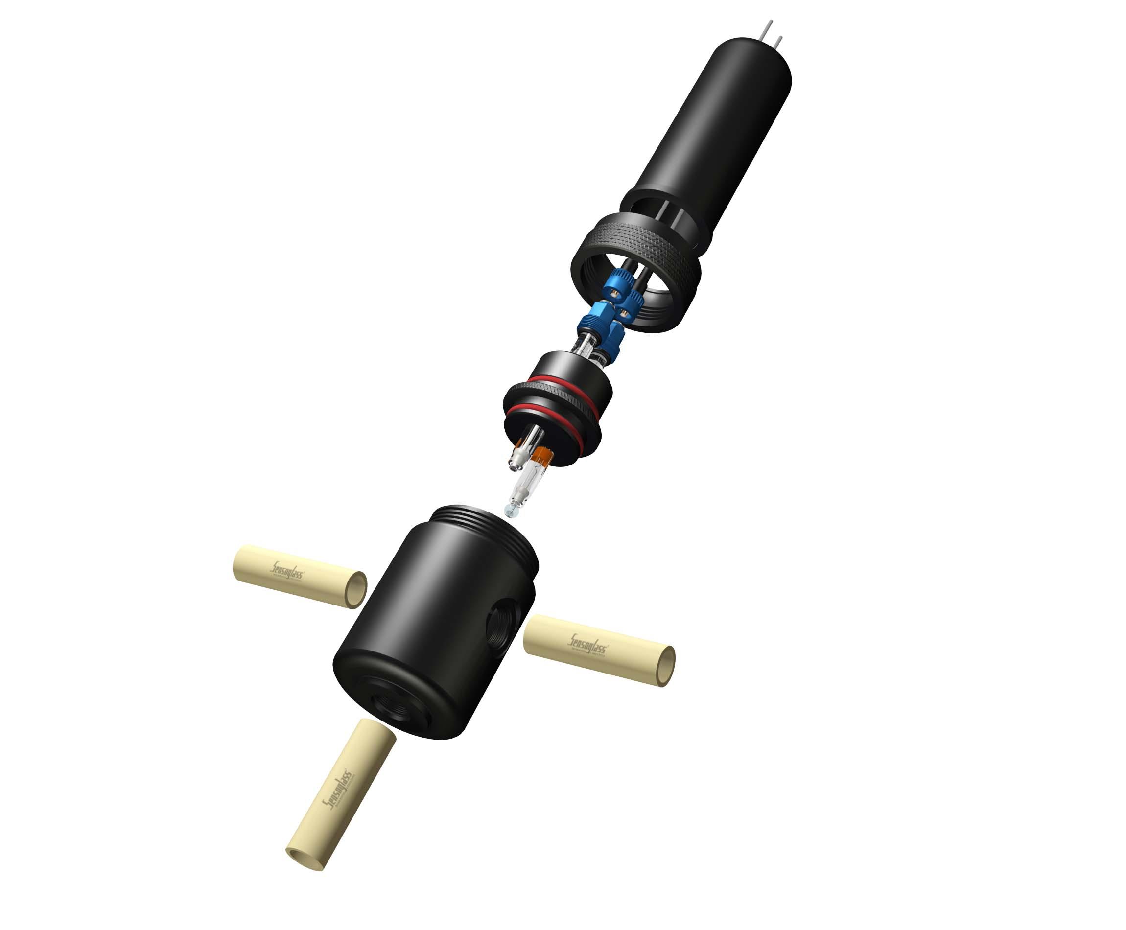 Sensor de ph industrial